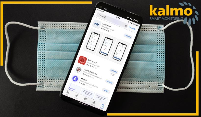 Kalmo Smart Monitoring vs altre app anti-Covid: sistemi di monitoraggio e contact tracing a confronto
