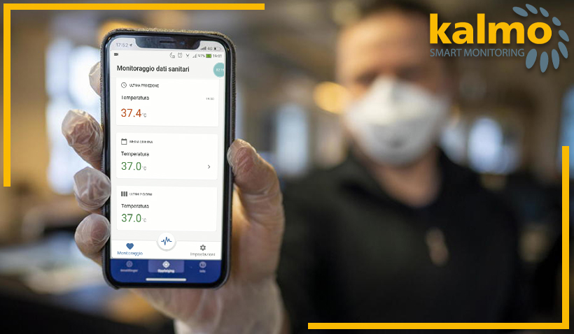 Kalmo Smart Monitoring: the intuitive and efficient solution for Covid-19 risk assessment